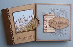 Mini album 'Petits bonheurs' d'Estelle Mauve