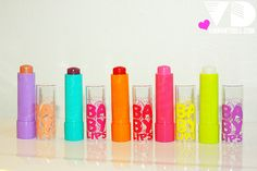 For perfect crack/peel free lips try baby lips they smell so yummy and it even has SPF! Health And Beauty Tips, Beauty Make Up, Beauty Stuff, Baby Lips Collection, Baby Lips Maybelline, Soft Lips, Lip Care, Love Makeup, Doll Face