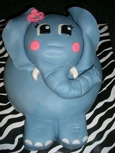 Image detail for -Elephant Birthday Cake - by afewcakes @ CakesDecor.com - cake ...