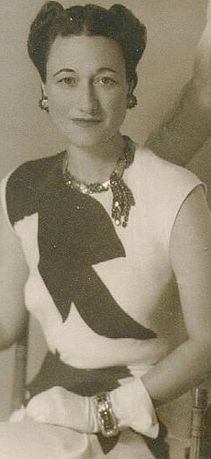 Duchess of Windsor wearing the Ruby Set
