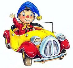 The Noddy Books by Enid Blyton - so un-pc now, but so loved as a child!