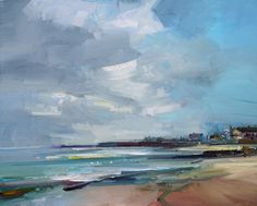 David Atkins |The Sea and Sky. Lyme Regis. Dorset   24x30 copy