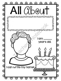 FREE All About ME Unit! from Teacher Twinkle Toes on TeachersNotebook.com -  (5 pages)  - This is a fantastic book to create for each of your students!