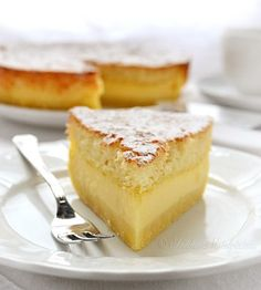Magic Cake ~ It isn't just the name – this cake is really pure magic in an every sense of the word.