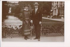 Vintage-Postcard-Prince-Adalbert-of-Prussia-Princess-Adelheid-of-Saxe-Meiningen