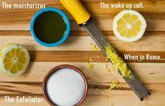 Glowing Lemon Sugar Hand Scrub