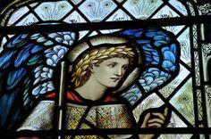 Buscot Annunciation Burne-Jones near Lechlade -10 http://www.bwthornton.co.uk/