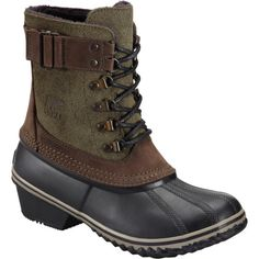 The Sorel Women's Winter Fancy Lace II Boot is equal parts sophistication and winter protection. This Sorel women's winter boot will keep you warm and toas . Wellies Boots, Rain Boots, Sorrel Boots, Black Lace Boots, Lace Shoes, Sorel Boots Womens, Dressy Shoes, Cold Weather Boots, Waterproof Winter Boots