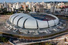 La nueva Arena da Amazônia en Manaus, Brasil. Foto de Wikicommons