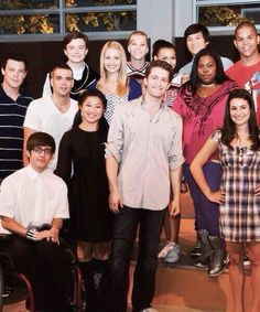 Songs by glee-cast Finn Hudson, Ryan Murphy, Glee Club, Dianna Agron, Chris Colfer, Cory Monteith, Education Humor, Lea Michele, Darren Criss