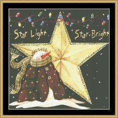 Star Light Star Bright [JM-43] - $16.00 : Mystic Stitch Inc, The fine art of counted cross stitch patterns