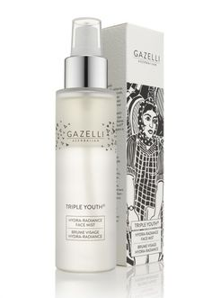 Azerbaijan Gazelli Cosmetics packaging. Inspoired.