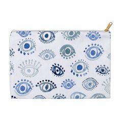 Charming Eye Pattern, Lucky Charm, Pencil Pouch, Evil Eye, Cords, Erika, Surface Design, Clothing Patterns, South Carolina