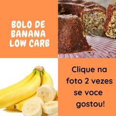 🍌🍴⬇ Bolo de Banana ⬇🍴🍌#receitasfuncionais #receitaspraticas #receitaspraticas #receitasdobem #receitasleves Fruit, Amazon, Food, Cooking Light Recipes, Brown Sugar, Modern Women, Get Lean, Amazons, Riding Habit