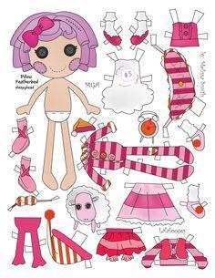 Miss Missy Paper Dolls: Lalaloopsy Paper Dolls pt 2 Barbie Paper Dolls, Vintage Paper Dolls, Antique Dolls, Imprimibles Toy Story Gratis, Missing Missy, Paper Art, Paper Crafts, Lalaloopsy Party, Paper Dolls Printable