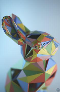 Google Rabbit by Shane Griffin, via Behance