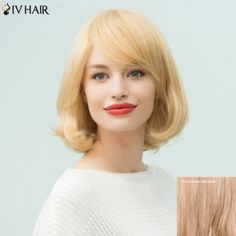 SHARE & Get it FREE | Siv Hair Inclined Bang Short Bob Human Hair WigFor Fashion Lovers only:80,000+ Items·FREE SHIPPING Join Dresslily: Get YOUR $50 NOW!