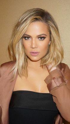 Khloe Kardashian bob hair