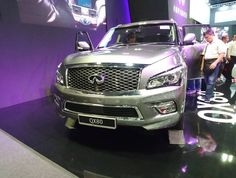 The Infiniti QX80. Probabaly the biggest car at the Singapore Motorshow... #sgcarshoots #sgexotics #speed  #sgcaraddicts #sportcars #sgcars #revvmotoring #monsterenergysg #nurburgring #cars #carinstagram #hypercars #monsterenergy #carswithoutlimits  #follow4cars #motorsports #gopro  #singapore #racetrack #supercarlifestyle #speedy #motoring #fastcars #carporn #fashion #luxurylifestyle #infiniti
