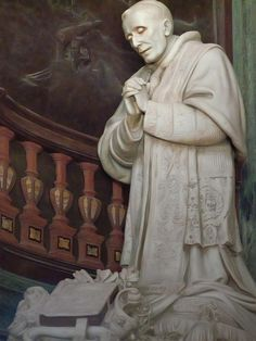 Monument to Pope Benedict XV at St Peter's Basilica in Vatican City