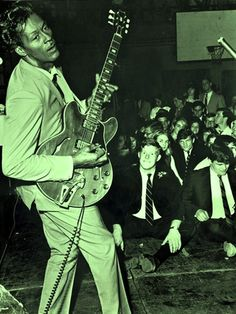 corporalsteiner, psychedelicway:   Chuck Berry, 1965 Photo : Ed...