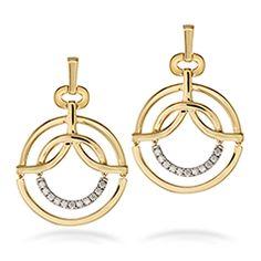 Copley Circle Earrings #myHOFwishlist,