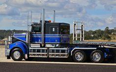 Heavy Haulage Australia Kenworth Trucks, Mack Trucks, Big Trucks, Train Truck, Road Train, Show Trucks, Heavy Truck, Classic Trucks, Heavy Equipment