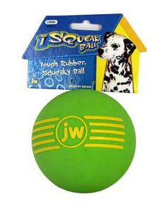 JW Pet iSqueak Ball Medium *** You can find more details by visiting the image link.Note:It is affiliate link to Amazon.