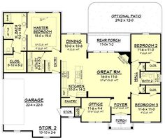 142-1075: Floor Plan Main Level