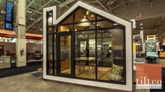 Prefab and Modern Bunkie Tiny House Concept Prefab Cabins, Prefab Homes, Modern Tiny House, Tiny House Design, Home Decor Styles, Cheap Home Decor, Led Recessed Lighting, Built In Furniture, Arquitetura