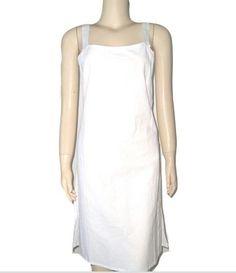 Vintage BLANC du NIL Paris Pure White Cotton by DaniellesVintage
