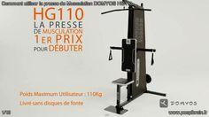 Comment utiliser la presse de Musculation DOMYOS HG110? Vous pouvez travailler vos muscles avec la barre qui se situe au dessus de vous, il suffit juste de… Le guide complet ici http://www.peoplbrain.fr/tutoriaux/sport/utiliser-la-presse-de-musculation-domyos-hg110