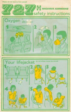 Nigeria Airlines | Safety Instructions