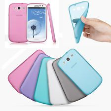 Rubber Soft Silicone Phone Case Cover Skin For Samsung Galaxy S3 S iii i9300