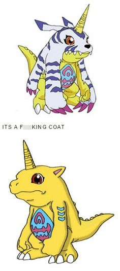 I Will Never Look at Gabumon the Same