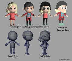 LOWPOLY (sub 1000~ triangle models) - Page 450 - Polycount Forum