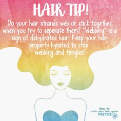 """If you hair looks like a spider web when you try to separate your strands, you may suffer from the """"webbing effect."""""""