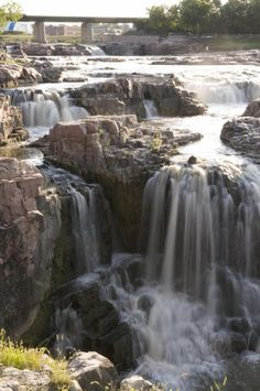 Falls Park in Sioux Falls...one of the must-see attractions on our two-day…
