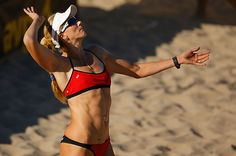 Pilates keeps Olympian Kerri Walsh Jennings strong and limber year-round.  Here's part of her routine.