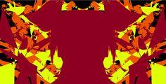 #AlchemyPatterns #colour #art #digital #red #orange #yellow #black #girlwithponytails #different #design