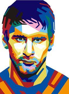516. Illustration: Lionel Messi