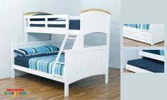 Burleigh Single Over Double Bunk Bed.