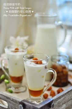 桂圆蜂蜜牛奶 Honey Milk with Dried Longan