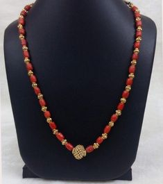 56 Ideas For Style Gypsy Bijoux Gold Chain Design, Gold Jewellery Design, Bead Jewellery, Beaded Jewelry, Beaded Necklace, Gold Earrings Designs, Necklace Designs, Coral Jewelry, Bridal Jewelry