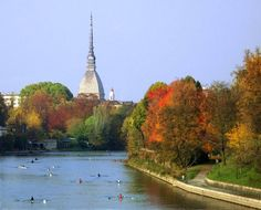 Remando sul Po d'#autunno #Torino