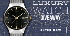 Enter to win the new luxury watch everyone's talking about.