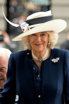 Camilla Duchess of Cornwall 2016 Royal C, Royal Prince, Camilla Duchess Of Cornwall, Types Of Hats, Camilla Parker Bowles, Elisabeth Ii, Herzog, Royal Fashion, Famous Faces