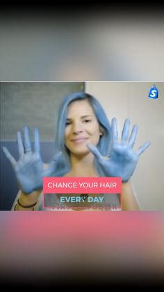 Change your HAIR COLOR every day! - Hairstyle Shapes - Hairstyles, Best Hairstyles, Hairstyles For Women - hairstyles Diy Hairstyles, Pretty Hairstyles, Curly Hair Styles, Natural Hair Styles, Temporary Hair Dye, Hair Wax, Cool Hair Color, Hair Colors, Crazy Hair