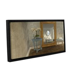 Reflection by Cynthia Decker Gallery-Wrapped Floater-Framed Canvas