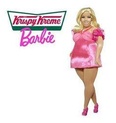 Krispy Kreme Barbie